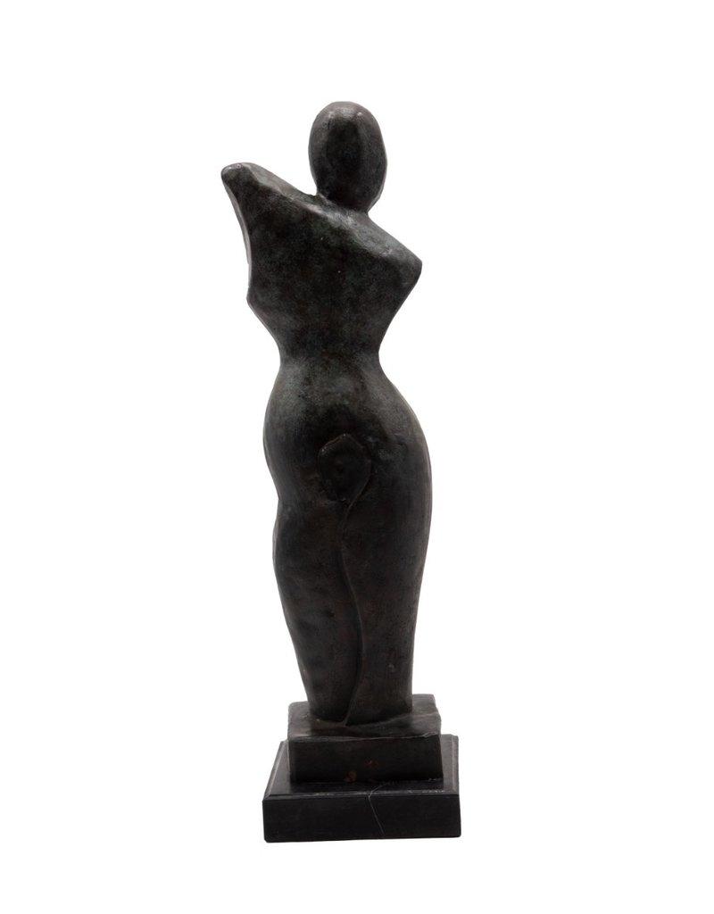 Grazia – Abstrakte Bronzefigur Frau