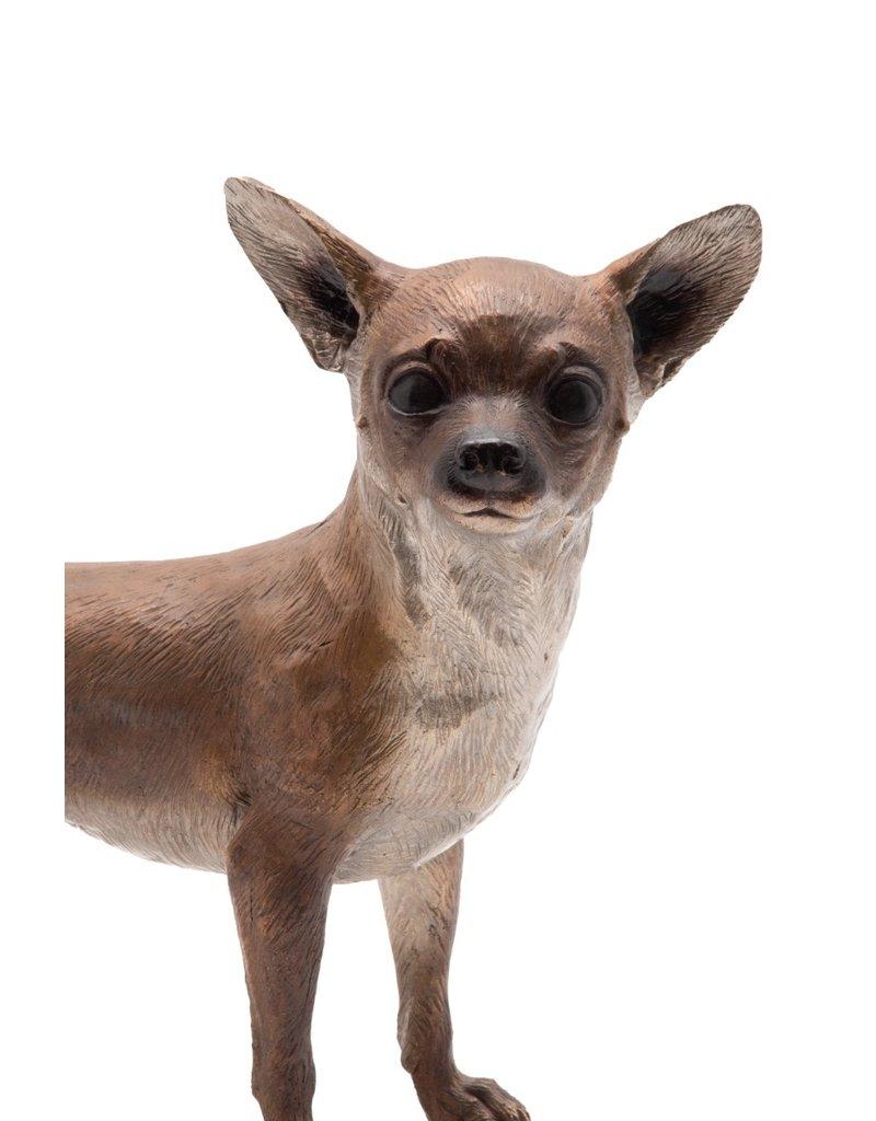 Chico – Stehender Chihuahua Bronze