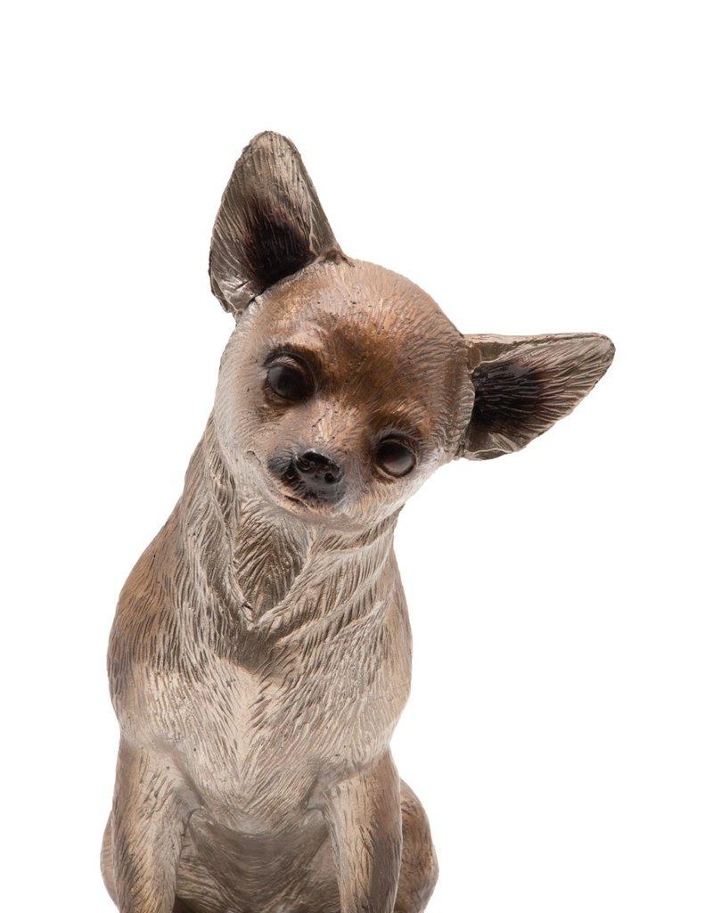 Django – Sitzender Chihuahua Figur