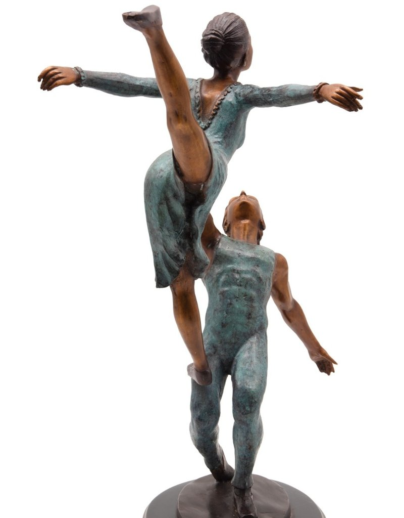 Caleo – Ballettpaar Bronzestatue