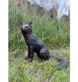 Inari Sedeo – Lebensgroßer sitzender Fuchs