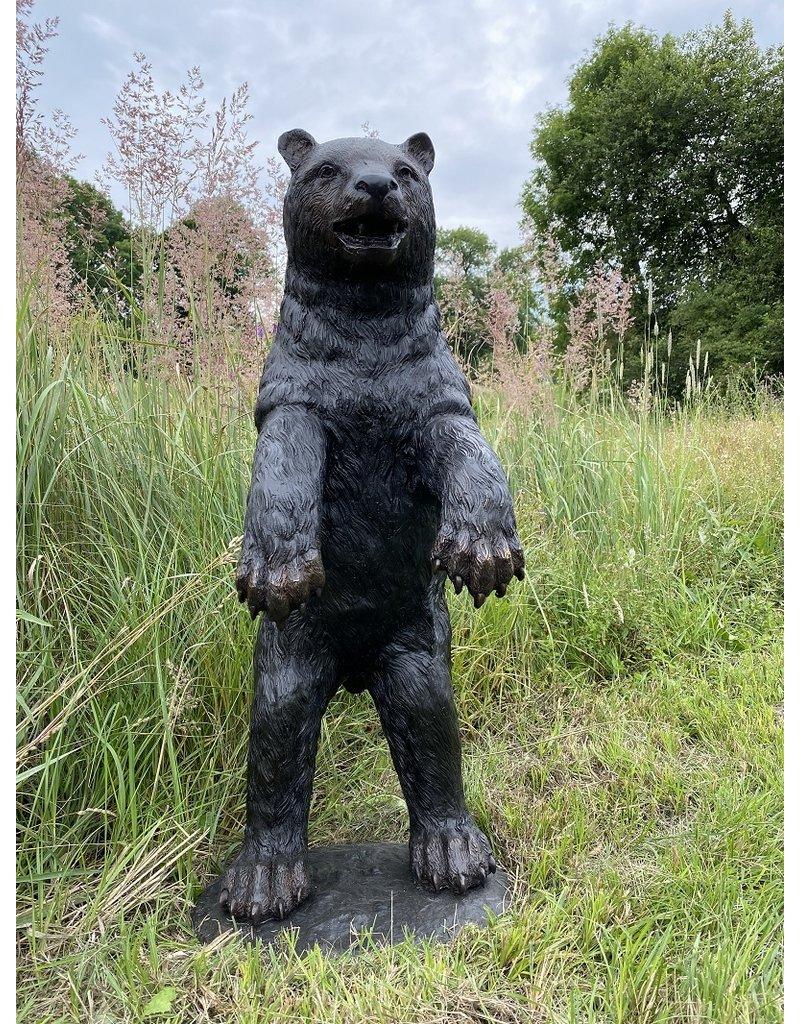 Ursus – Stehender Bär Bronzefigur