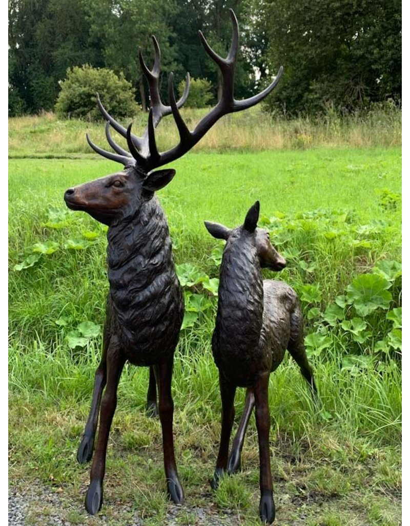 Ferox – Hirsche Skulpturen Set