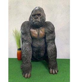 Anakin – Bronzefigur männlicher Gorilla
