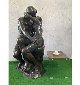 Der Kuss – Große Skulptur aus Bronze