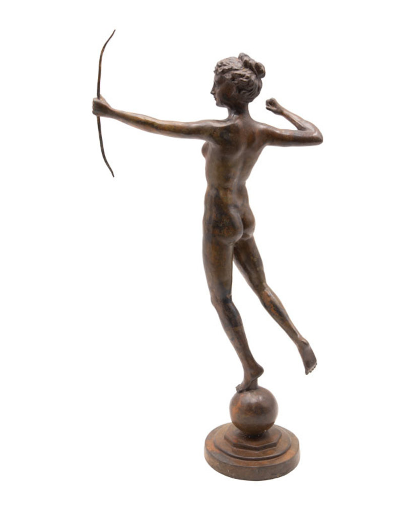 Diana – Bronzestatue Göttin der Jagd
