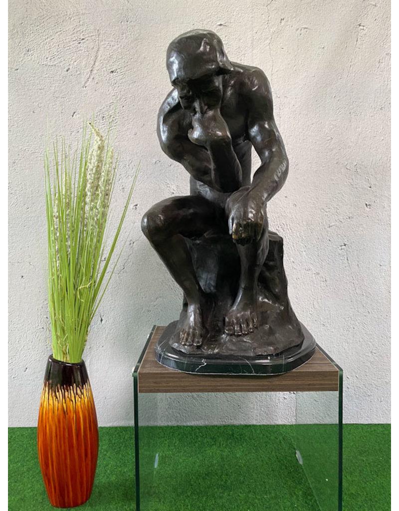 Der Denker – Große Bronzeskulptur