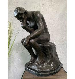 Der Denker – Große Bronzefigur