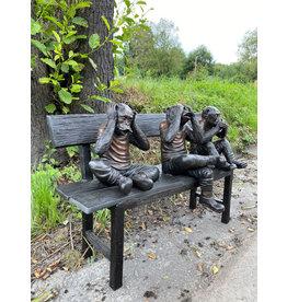 Die Drei Affen – Bronzebank