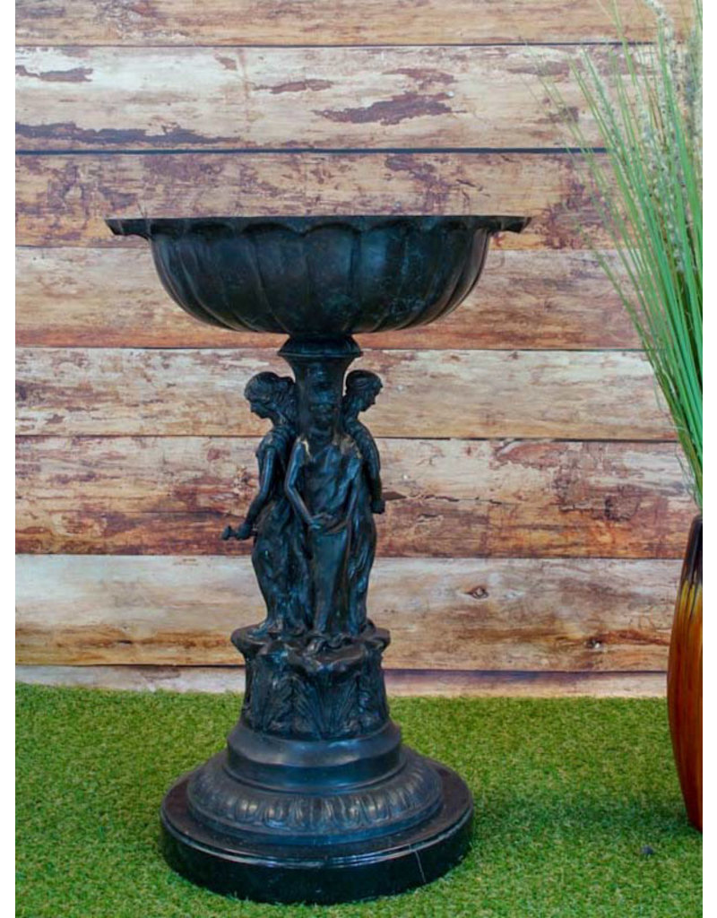 Donatio – Bronzeschale Jugendstil