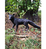 Inari – Lebensgroßer stehender Fuchs Skulptur