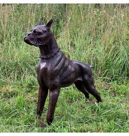 Boxer – Hundefigur aus Bronze