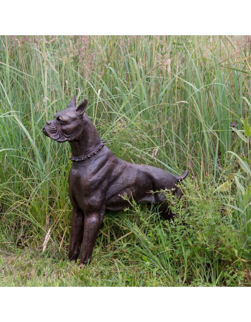 Boxer – Tolle Hundefigur aus Bronze