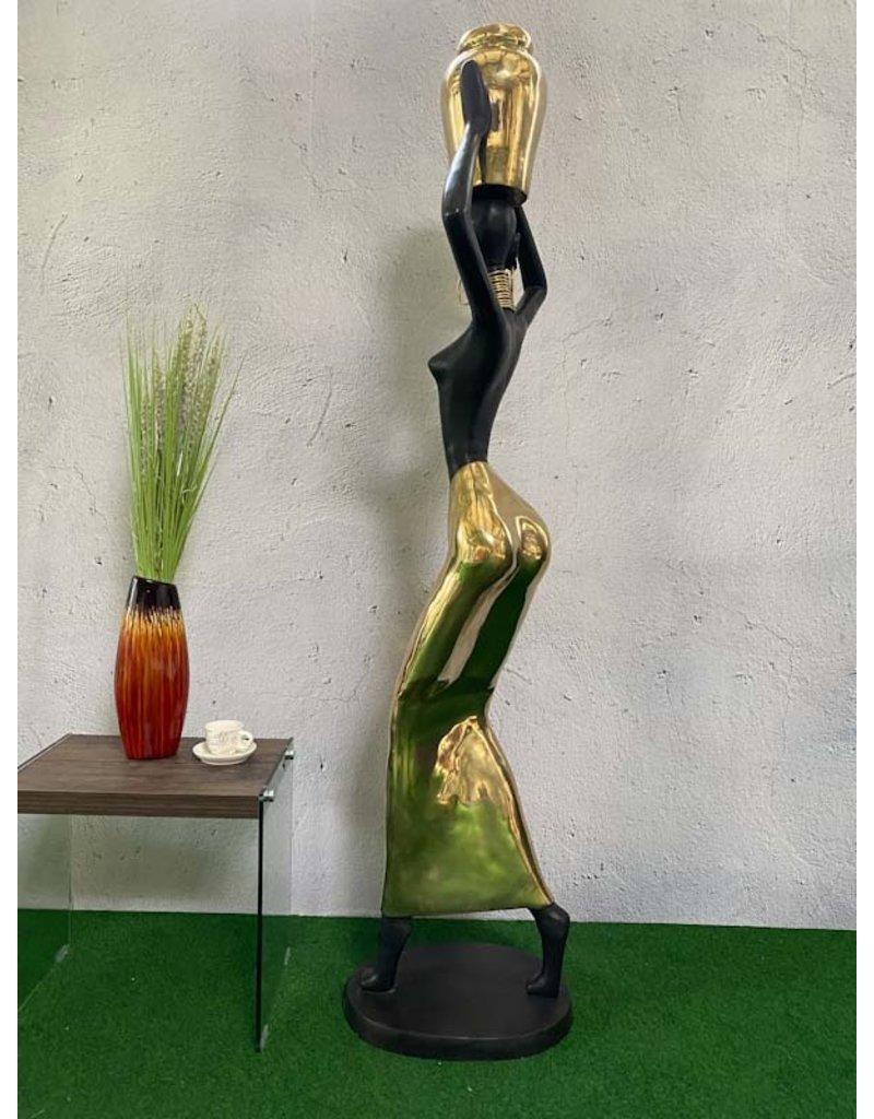 Taisia – Große abstrakte Frauenskulptur