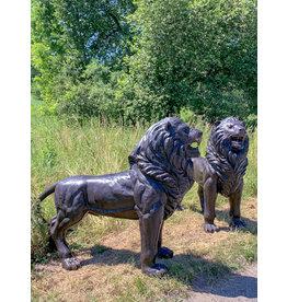 Ostiarius – Löwen Bronzefiguren Set