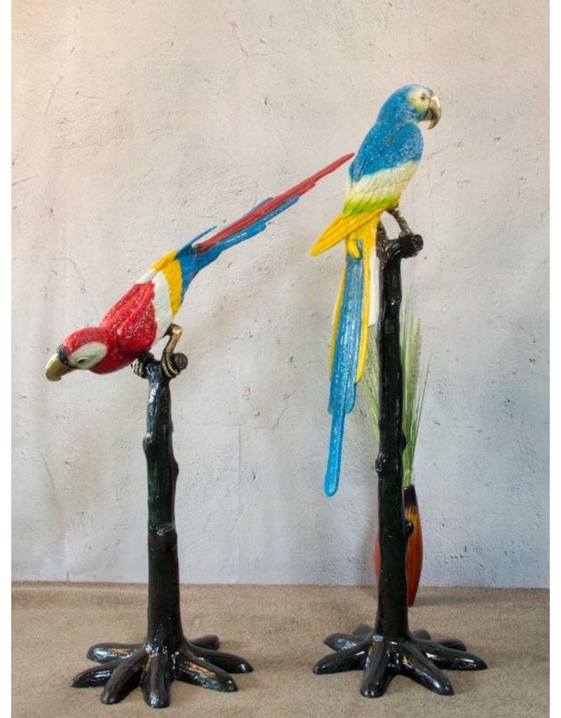 Perroquets a Deux – Buntes Papageienpaar