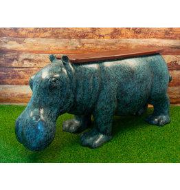 Hippo – Nilpferd Gartenbank