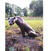 Celer – Kleiner Gepard Bronzefigur
