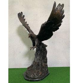 Lapis – Steinadler aus Bronze