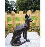 Bastet – Katze Skulptur aus Bronze