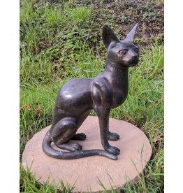 Bastet – Katze Bronzefigur