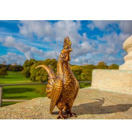 Gallus – Bronzefigur Hahn