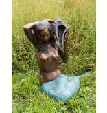 Petite Sirene - Sitzende Meerjungfrau Wasserspeier