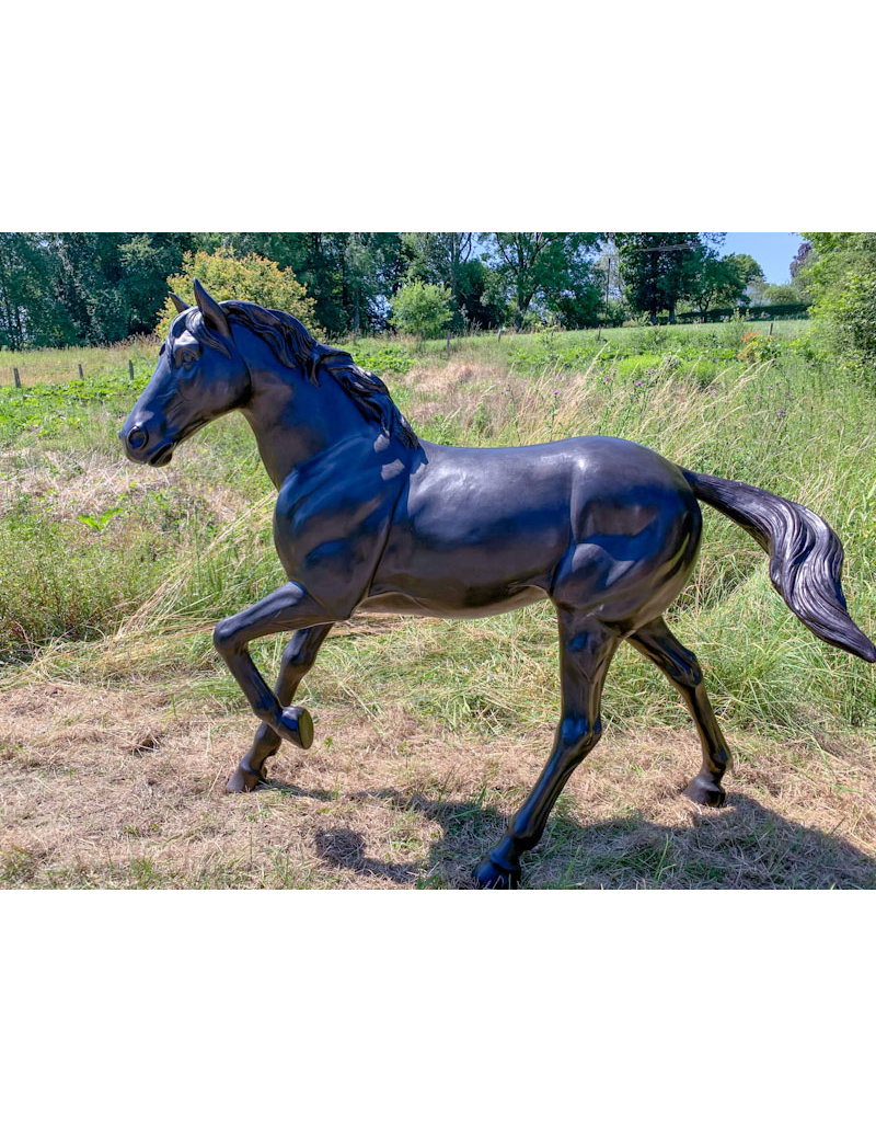 Grand Morningstar – Große Pferdefigur aus Bronze
