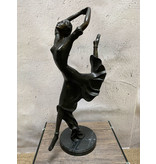 Elise – Art Deco Frauenfigur Bronze