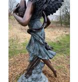 Enja – Engel Wasserspeier Bronzefigur