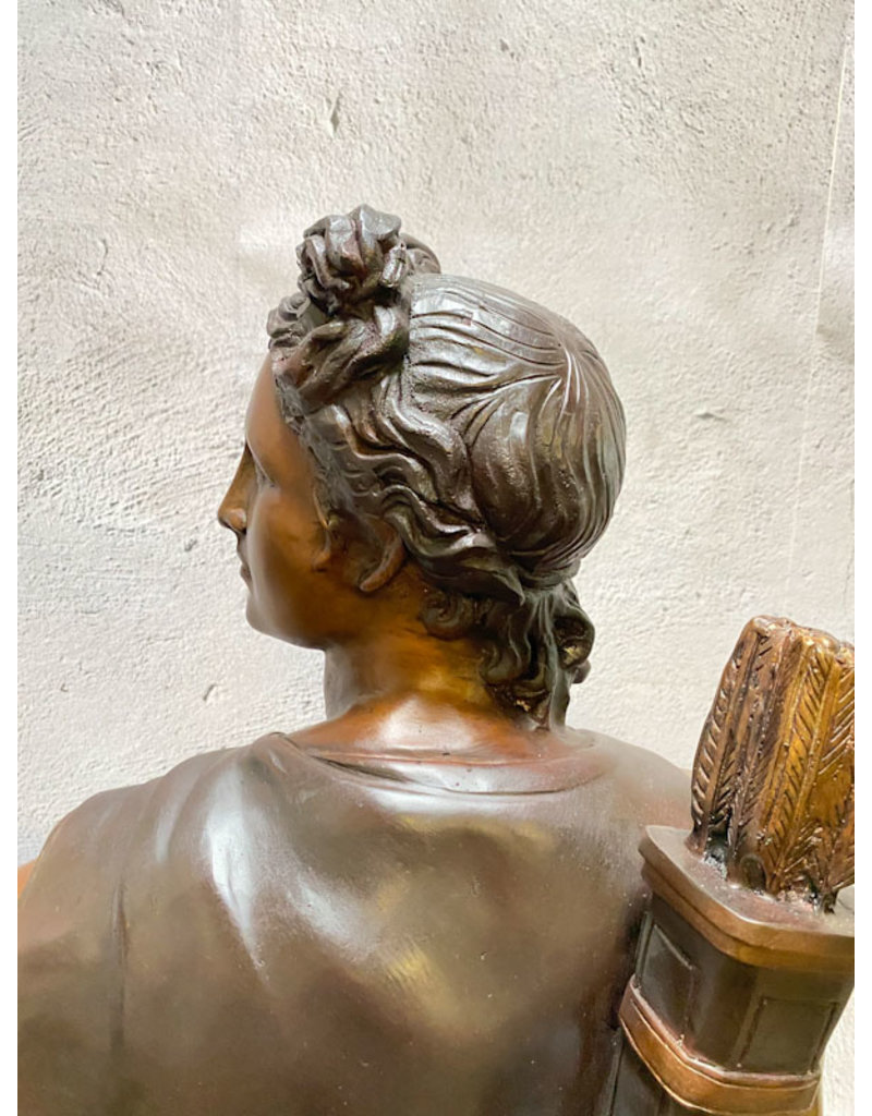 Apollo von Belvedere – Große Bronzestatue