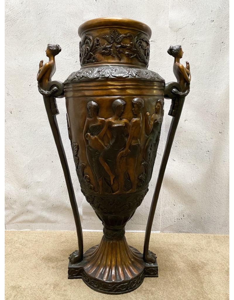 Dekora – Bronzevase Jugendstil