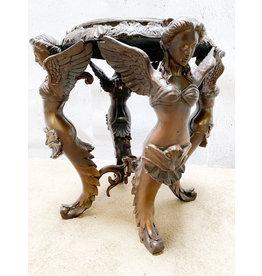 Jugendstil Hocker – Bronzeobjekt