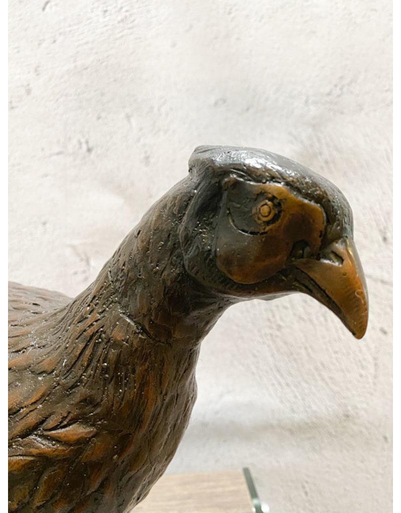 Phasi – Fasan Skulptur Bronze