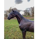 Eclipse – Lebensgroßes Pferd Bronzefigur
