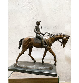 Shoemaker – Jockey auf Pferd