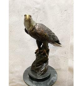 Signum – Adler Bronzefigur