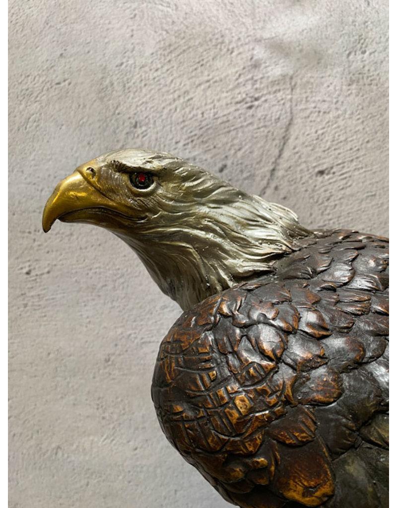 Signum – Adler Skulptur aus Bronze