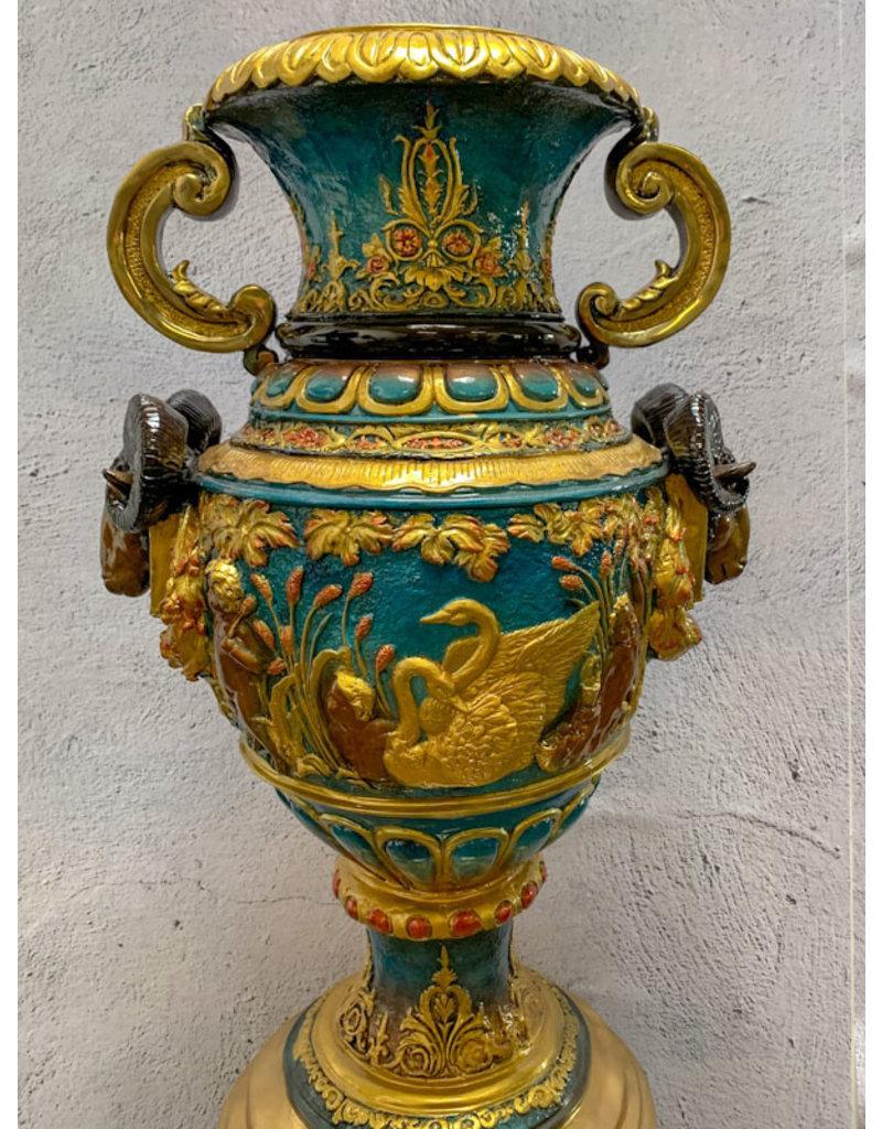 Magnificus – Große Vase Bronzeobjekt