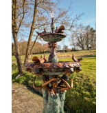 Columba – Großer Springbrunnen aus Bronze