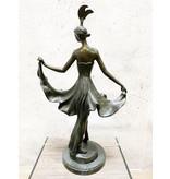 Moulin – Tänzerin Skulptur Bronze