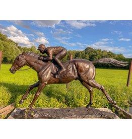 Jockey Lester - Reiter auf Pferd