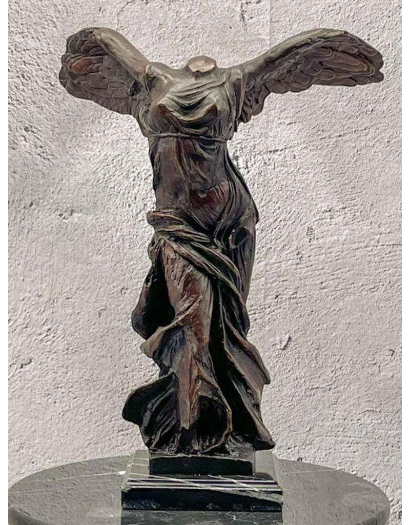 Nike von Samothrake – Bronzefigur 43cm