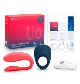 We-Vibe Set Sensations Unite Collection mit Paar-Vibrator und Penisring