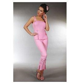 Livia Corsetti Fashion Kame Nacht-Set in Pink