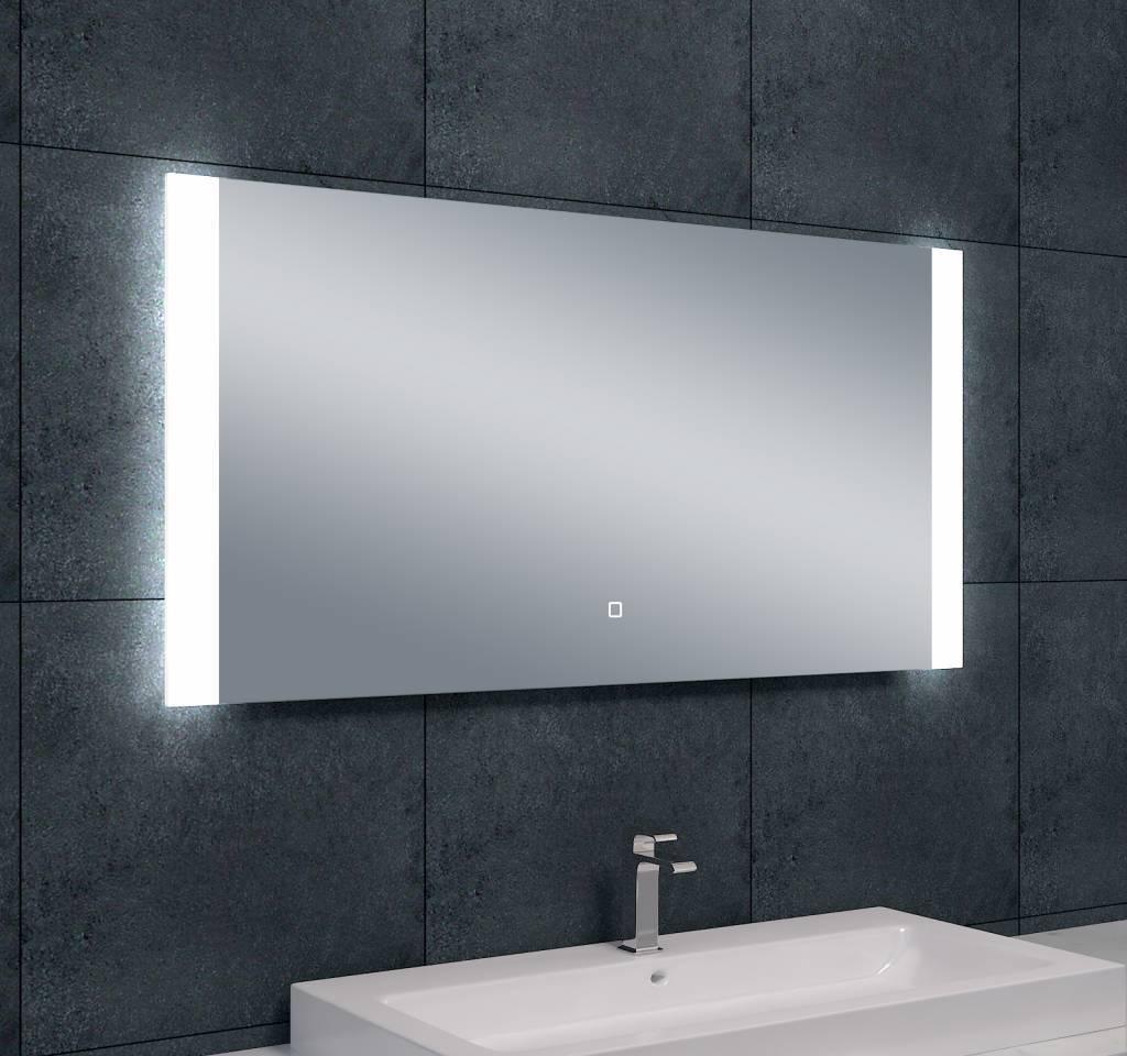 Wiesbaden Sunny dimbare LED condensvrije spiegel 1200x600