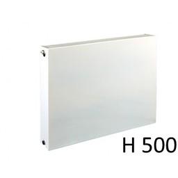 E.C.A. paneelradiator T22 vlakke voorplaat H500, diverse breedte
