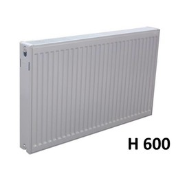 Sanica Compact 6 paneelradiator T22 H600 diverse breedte