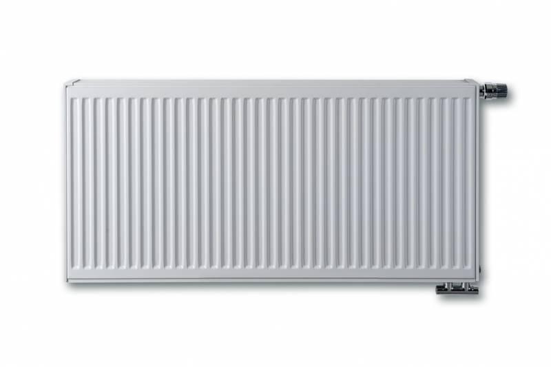 E.C.A. paneelradiator T33 compact 6 H400, diverse breedte