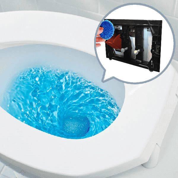 Wiesbaden Toiletblokhouder montageset tbv Geberit UP-100